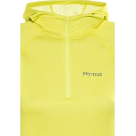 Marmot Indio 1/2 Zip Jacket Women Sunny Lime